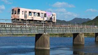 土休日に運転される快速「幕末ISHIN」号です。厚狭から美祢線経由で東萩...