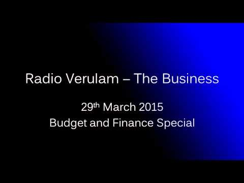 Business and Finance Special - 29th March 2015
