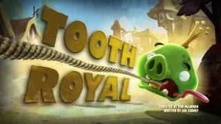 Злые птички - Энгри Бердс -Королевский зуб (S1E32) || Angry Birds Toons
