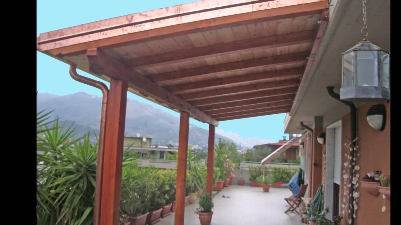 Porticati - Pergole - Pergotende - Tettoie - Coperture - www.artigiano-del-legno.it - YouTube