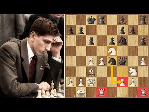 Why Did Bobby Fischer's Opponent Resign? Can You Solve it?