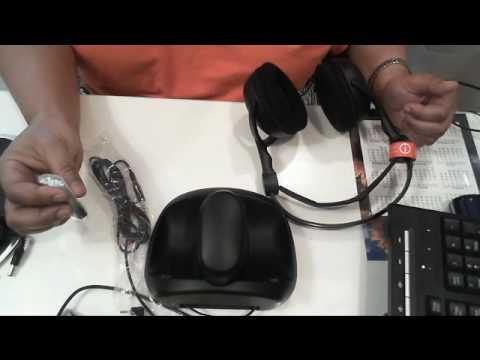 RCA 900mhz Headphones - YouTube