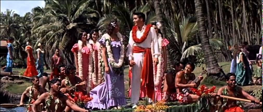 Resultado de imagen de elvis hawaiian wedding
