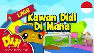 Lagu Anak-Anak Indonesia | Didi & Friends | Kawan Didi Di Mana