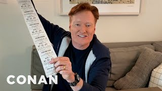 Conan's Toilet Paper Life Hacks