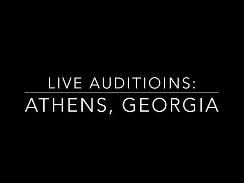 Athens, GA Auditions