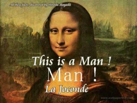 2036(7)Mona Lisa is a Male and Its Proofモナリザは男だった・証拠と証明 by Hiroshi Hayashi, はやし浩司