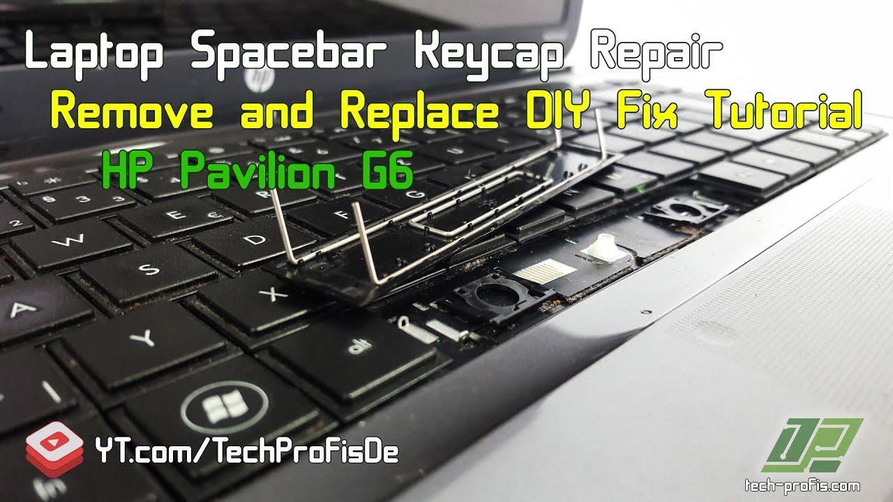 medium resolution of how to fix laptop spacebar key