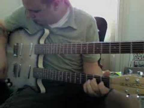 Danelectro Double Neck Guitar Demo