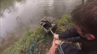 Magnet fishing Bristol crews hole found another safe