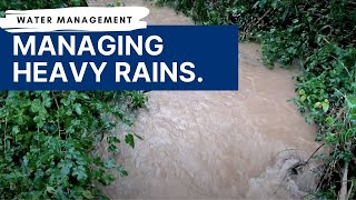 Water Management | Heavy Rains