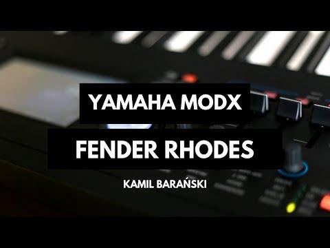 Nagrania dla muzykuj.com – Yamaha MODX Fender Rhodes  – Yamaha MODX-8 gra: Kamil Barański www.muzykuj.com