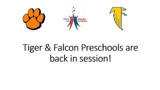 Tiger & Falcon Preschools are back in session!