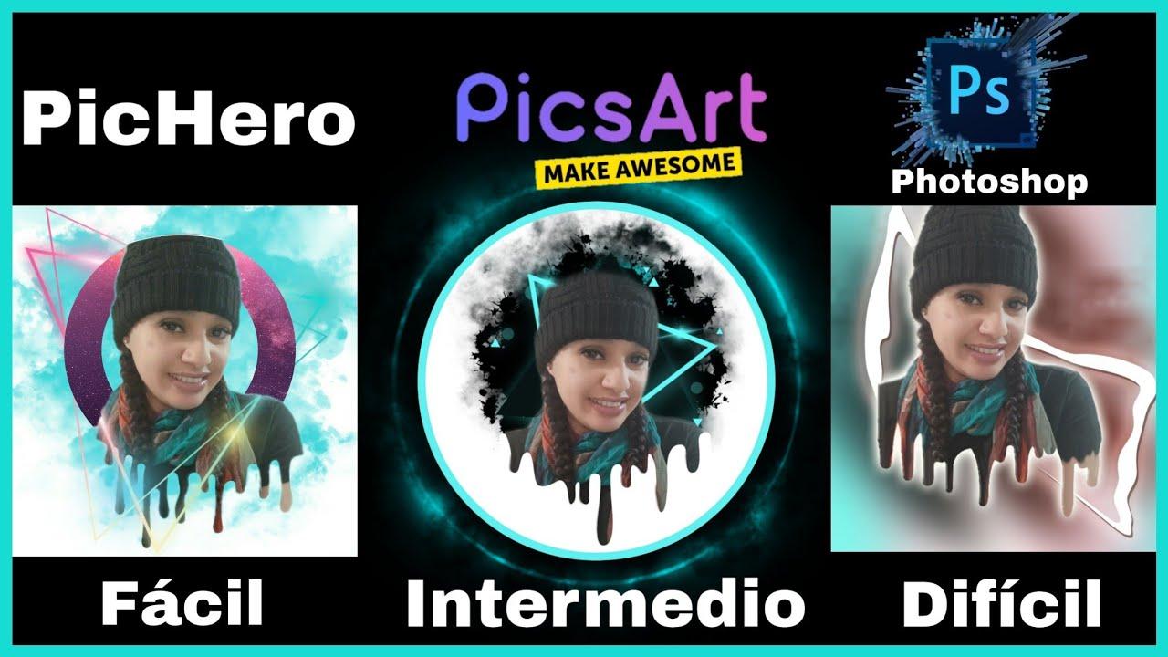 Cómo EDITAR un DRIPPING EFFECT usando PICSART, PicHero y PHOTOSHOP (Aesthetic)