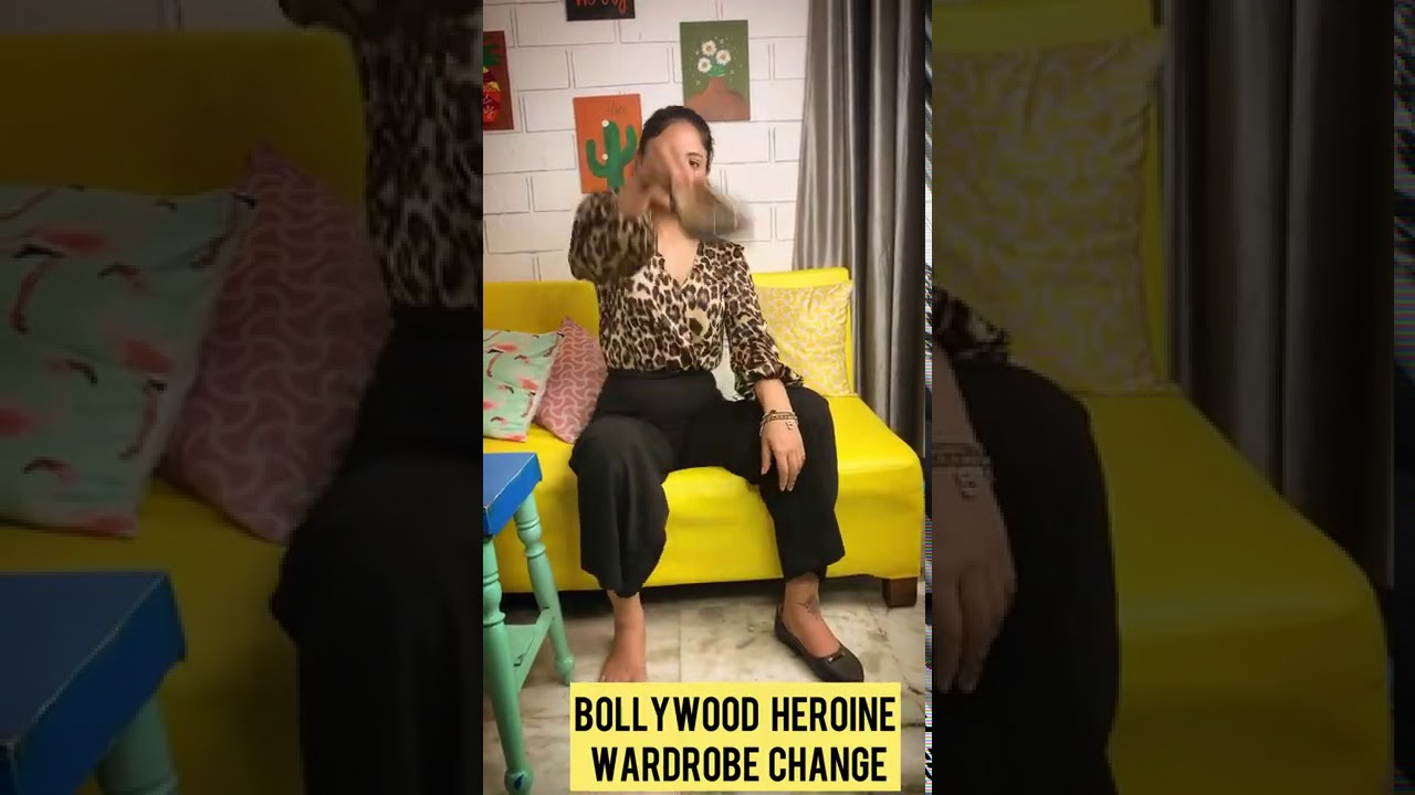 Bollywood Actress Wardrobe Challenge