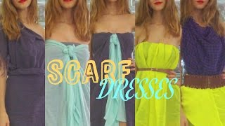 Transform your Scarves into Scarf Dresses | Stella Thumbnail