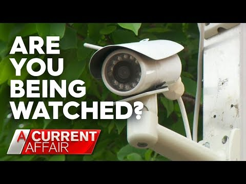 How Hackers Access Your Security Cameras | A Current Affair