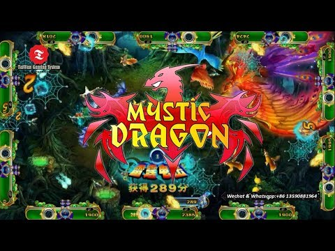 How To Win IGS Mystic Dragon Shooting Fish Game Machine Casino Slot Machine