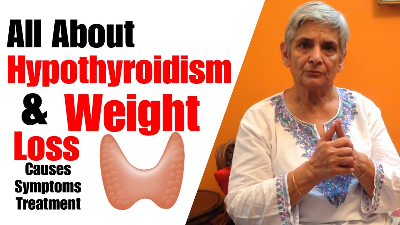 trying to lose weight with hypothyroidism