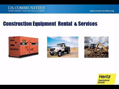 Equipment Rental, Sales & Services
