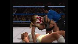 svr2007 : Mickie James vs. Jillian Hall (part 2)