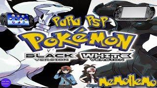 Pokemon Black y White para PSP y PSVita | Homebrew |