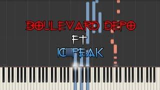 Скачать Boulevard Depo Ft Ic3peak Ожоги кавер на пианино урок Downtempo