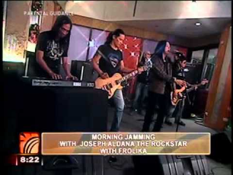 joseph aldana the rockstar in umagang kay ganda