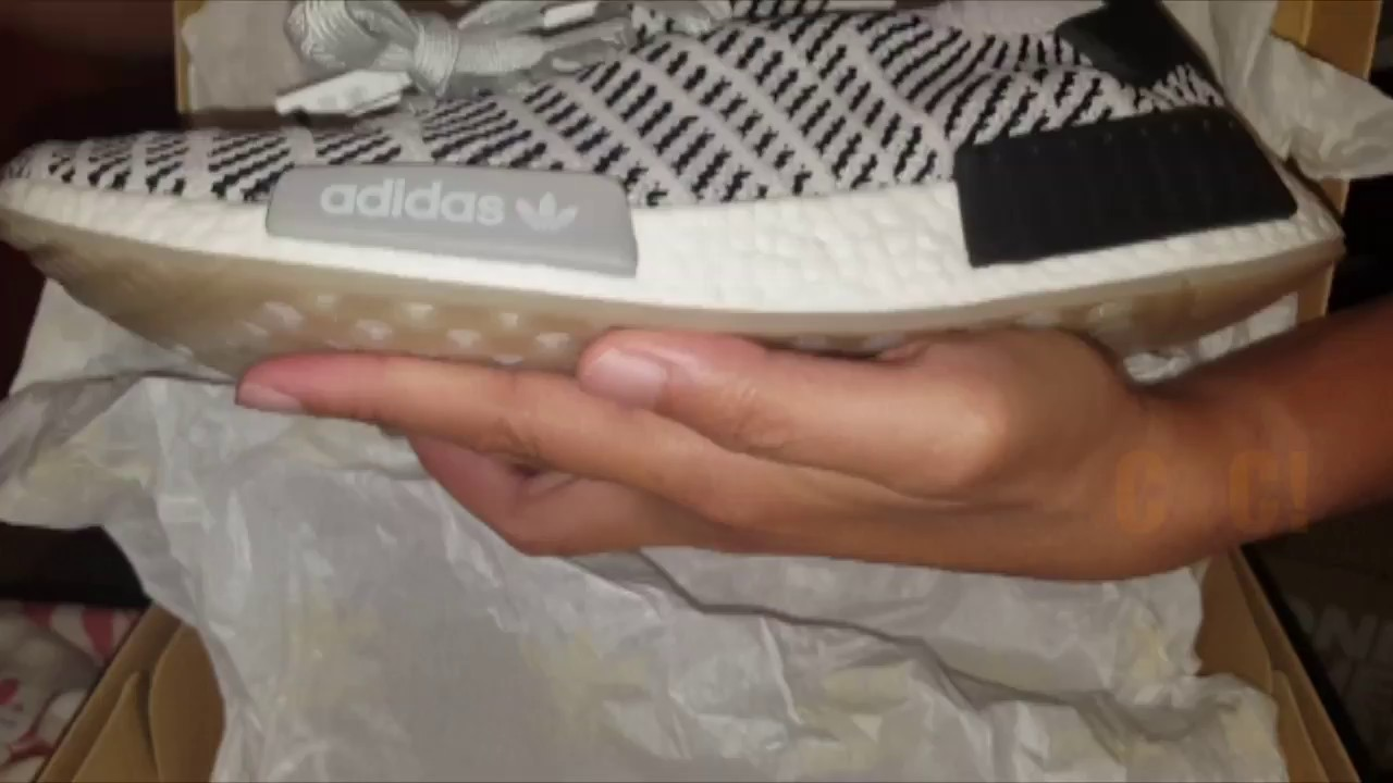 UNBOXING+REVIEW adidas NMD R1 STLT PK