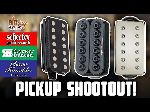 Pickup Shootout - Schecter, Seymour Duncan & Bare Knuckle