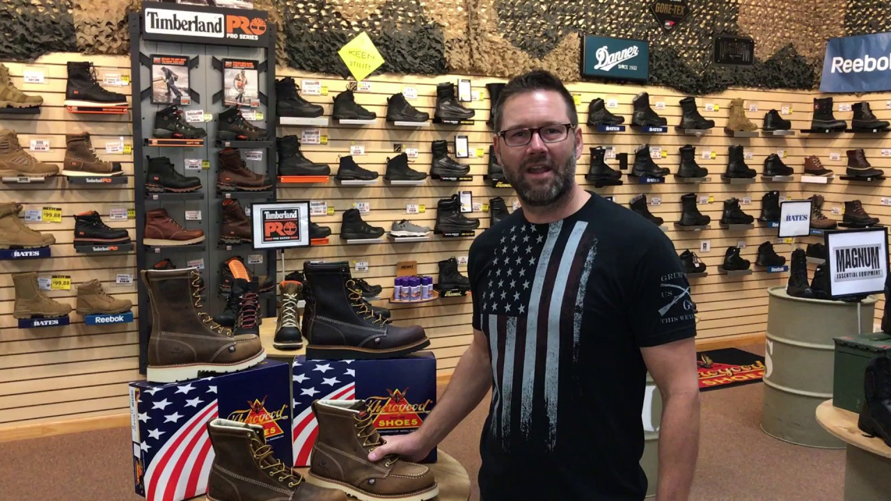 New Usa Made Thorogood Boots Youtube