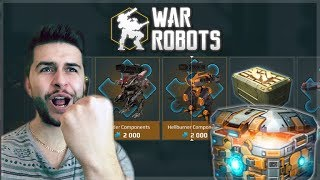 SPEND NG 1000 KEYS ON CHESTS F RST EVER CHEST OPEN NG  War Robots