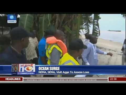 Ocean Surge Threatens Agge Community In Bayelsa State