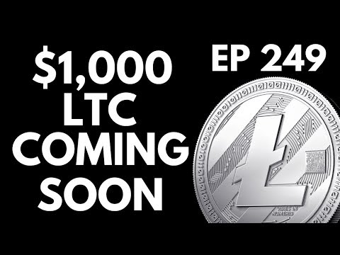 Ep 249: LITECOIN HEADED FOR $1,000. Penny Stocks Cooling! Ov