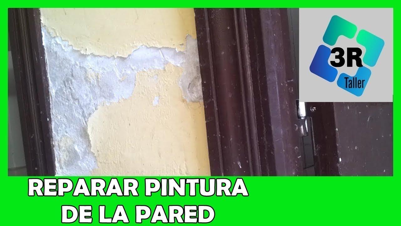 Pintar Pared Exterior Desconchada Awesome Pintar Pared Exterior  ~ Como Arreglar Una Pared Desconchada