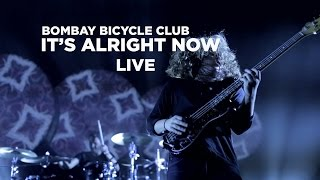 Front Row Boston | Bombay Bicycle Club – It's Alright Now (live)
