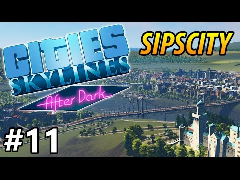 Cities: Skylines - After Dark - Downtown - PART #11