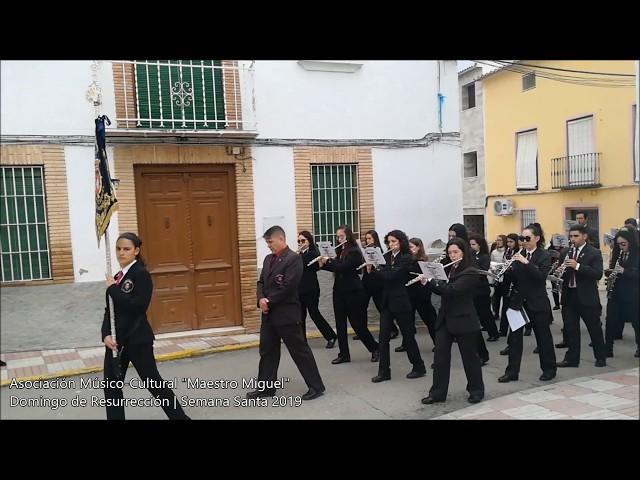 Domingo de Resurrección 2019 en Villargordo | BM Maestro Miguel