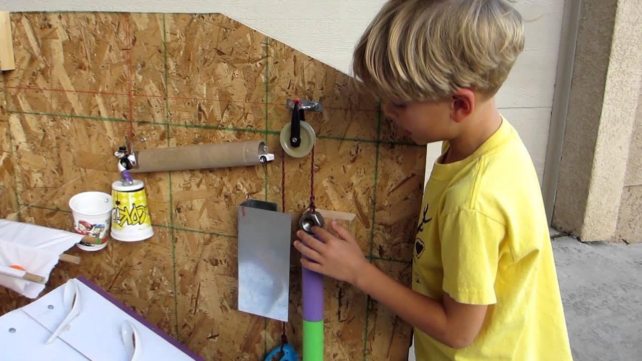 3rd Grade Rube Goldberg Machine The Doorbell