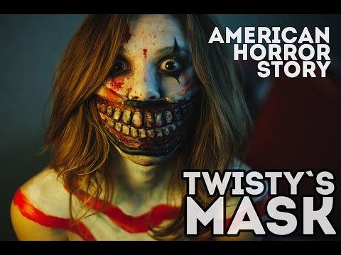 Маска Твисти из Американской Истории Ужасов | Twisty mask | American horror story halloween look