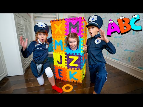 Five Kids Learn the alphabet ABC + more Children's Songs and Videos