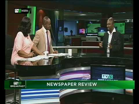 TVC Breakfast 15th March 2018   Newspaper Review