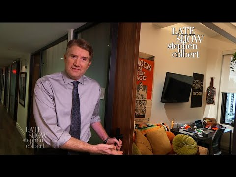 Hey Amazon, Want To Move Into The Late Show's Office?