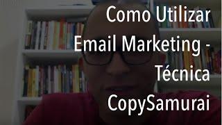 Email e sequências de emails - Hangout CopySamurai