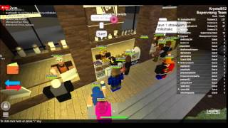 ROBLOX || Dunkin' Donuts Cafe || Krystal852