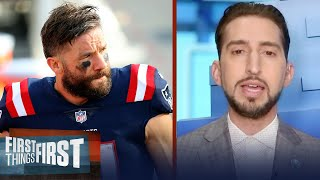 Julian Edelman Is Nowhere Near Close To A Hall Of Famer — Nick Wright | NFL | FIRST THINGS FIRST