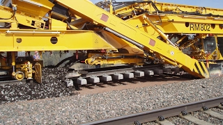 amazing technology railway building construction machine compilation 2017