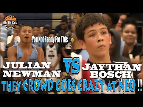 COLD Kid from NH Jaythan Bosch Challenges CLEVER PG Julian Newman & Shuts Down NEO