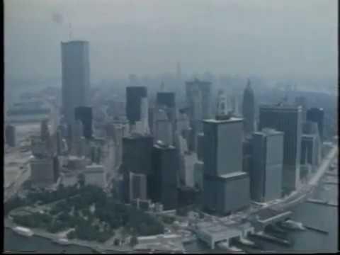 Manhattan Skyline | New York City | Crime Inc | 1984