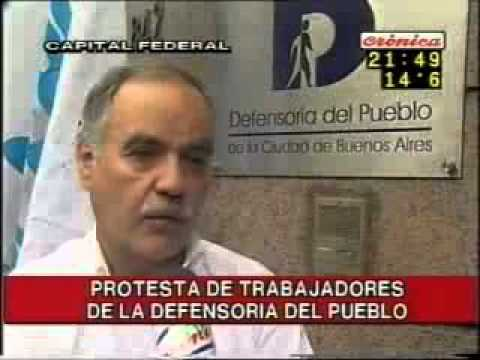 Paro Defensoria CronicaTV 5 5 2006